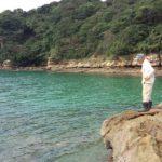 鷹島のエギングポイントの調査へ