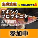 【ヤマシタ】エギングブログモニターに参加します。