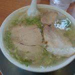 なおちゃんラーメン(糸島市)で豚骨ラーメンを食す。