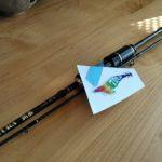 レガーメのアジングロッド弧丞 のティップ修理
